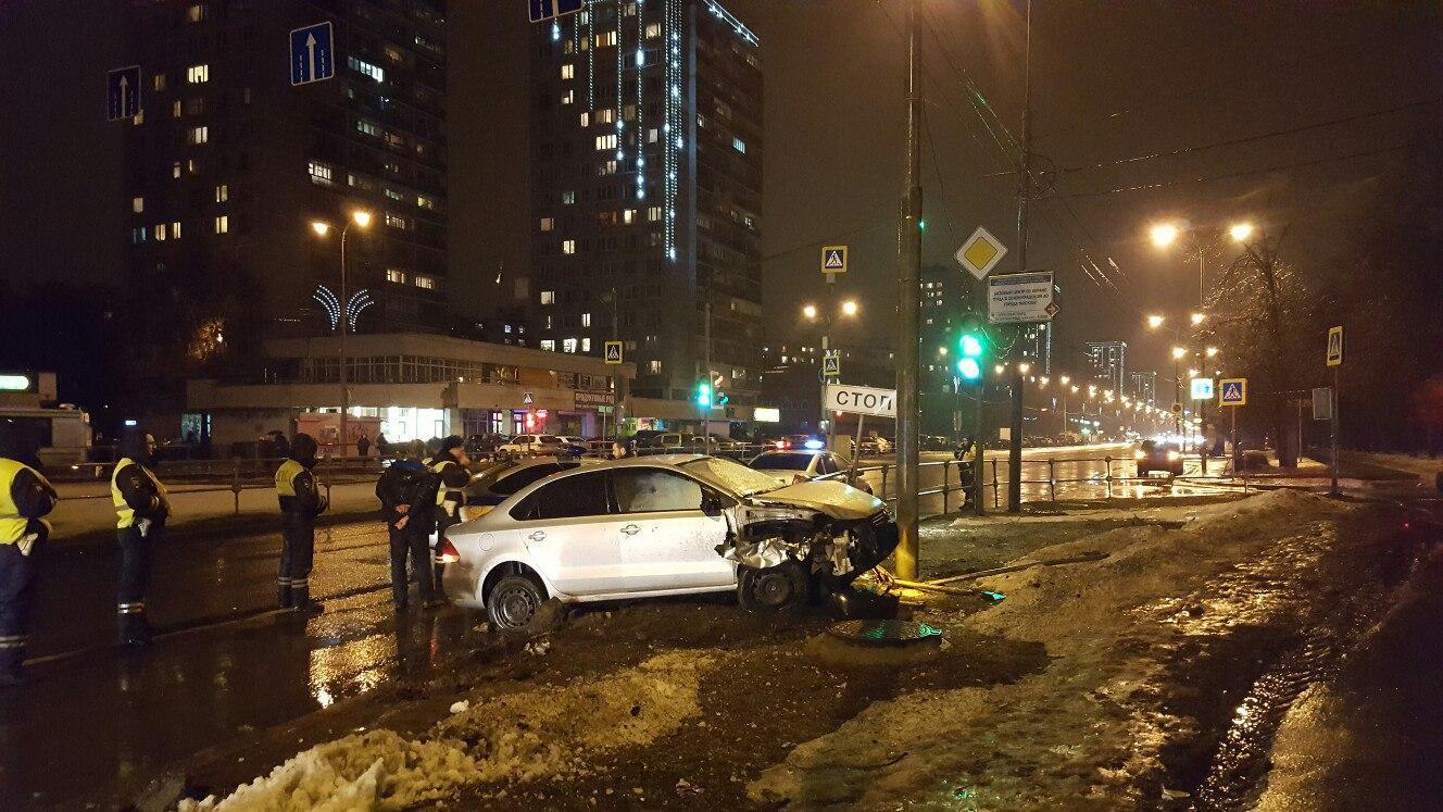 ВЗеленограде схвачен устроивший ДТП спатрульной машиной нетрезвый шофёр