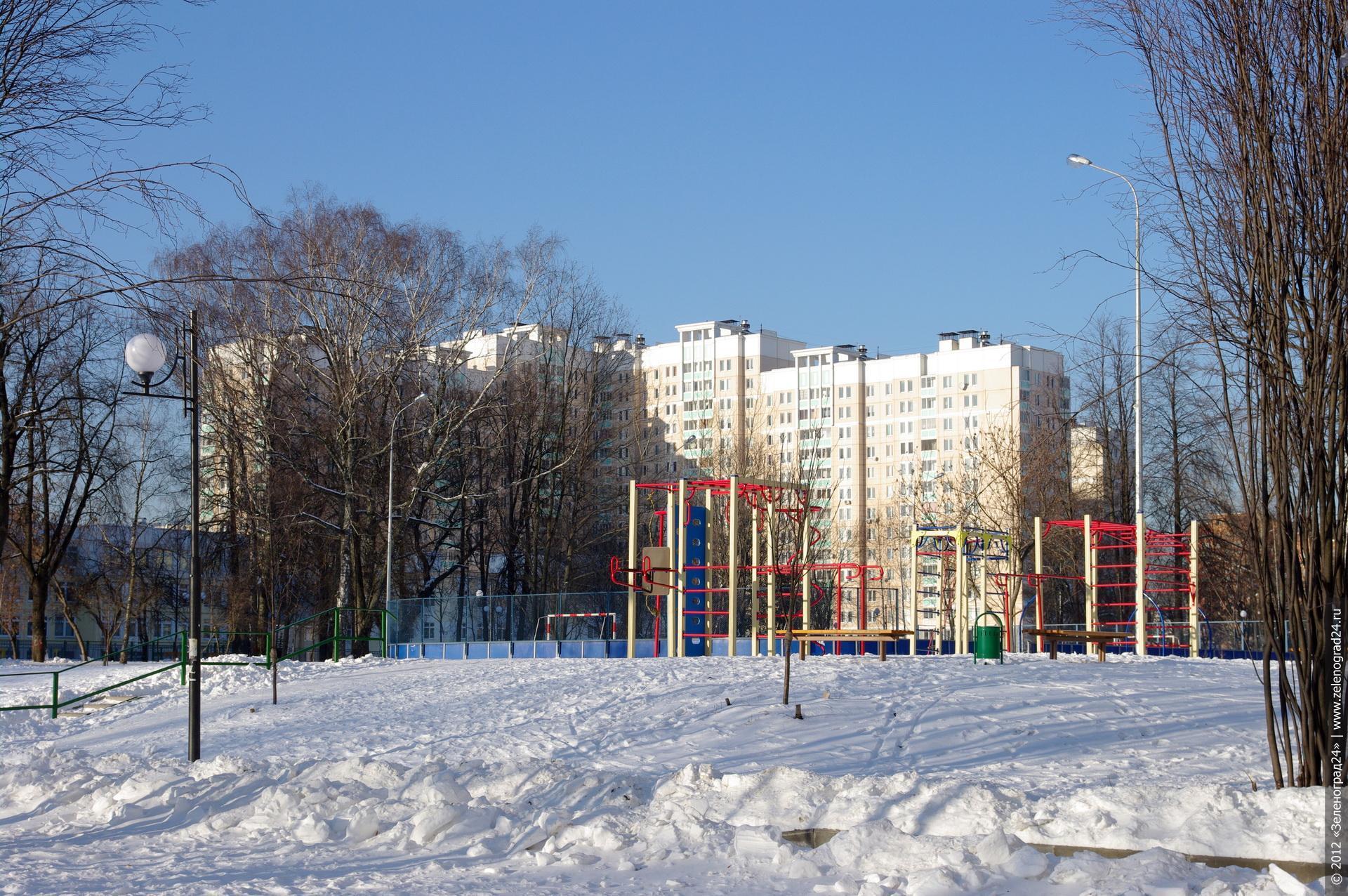 Зеленоград картинки зима 2012 4