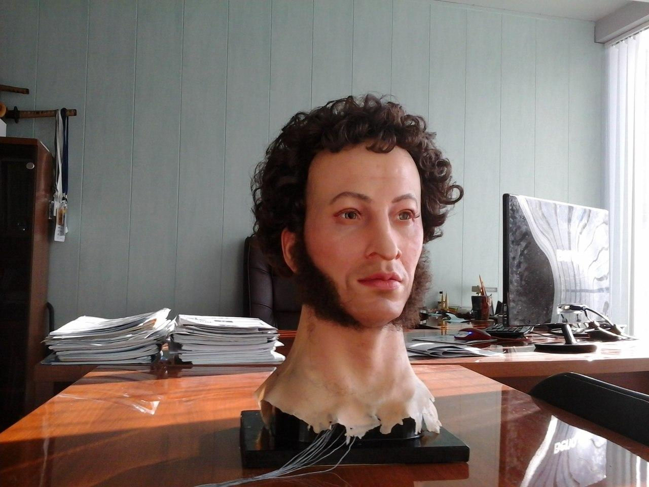 поснимать реальное фото пушкина уже