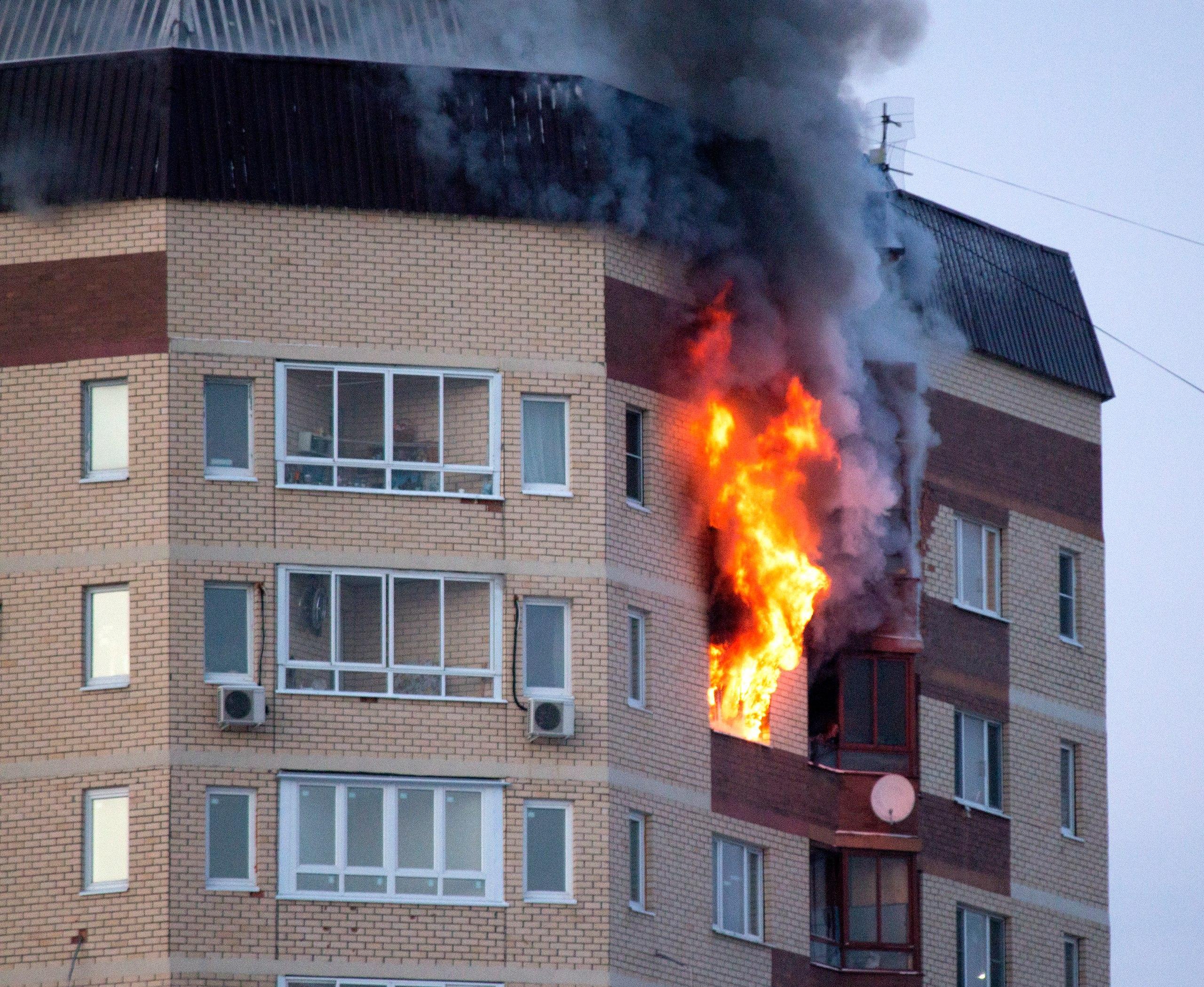 Пожар картинки квартиры