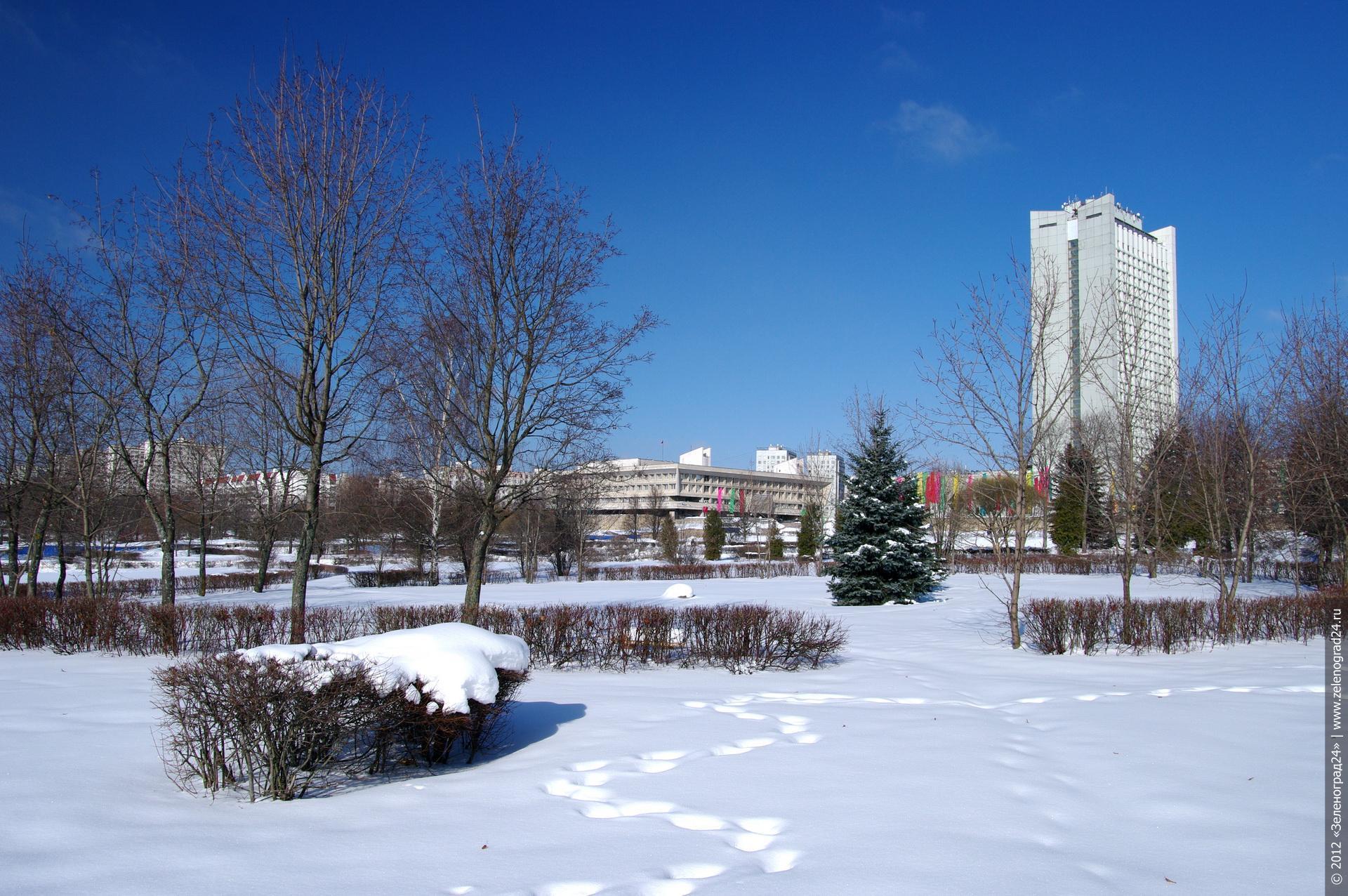 Зеленоград картинки зима 2012 3